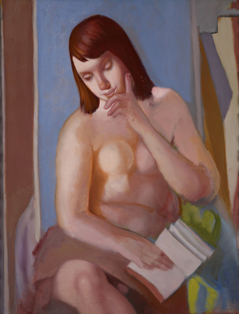 Tamara de Lempicka, 'Nu au livre', ca. 1958, Studio Guastalla