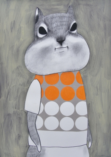 , 'Dots Squirrel,' , Ohshima Fine Art