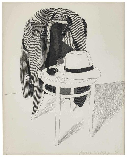 David Hockney, 'Panama Hat', 1972, Christie's