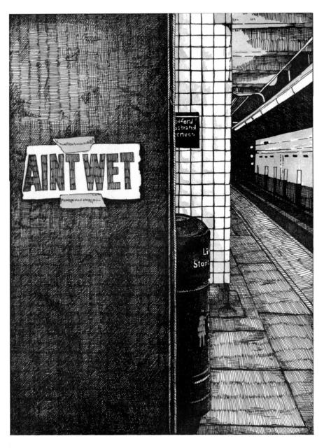 , 'Ain't Wet,' 2016, Resource Art