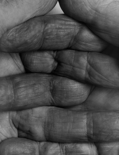 , 'Interlocking Fingers No. 1,' 1990, Galerie Nordenhake