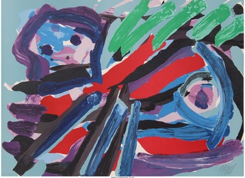 Karel Appel, 'Walking with my Bird,' 1979, Heritage Auctions: Valentine's Day Prints & Multiples