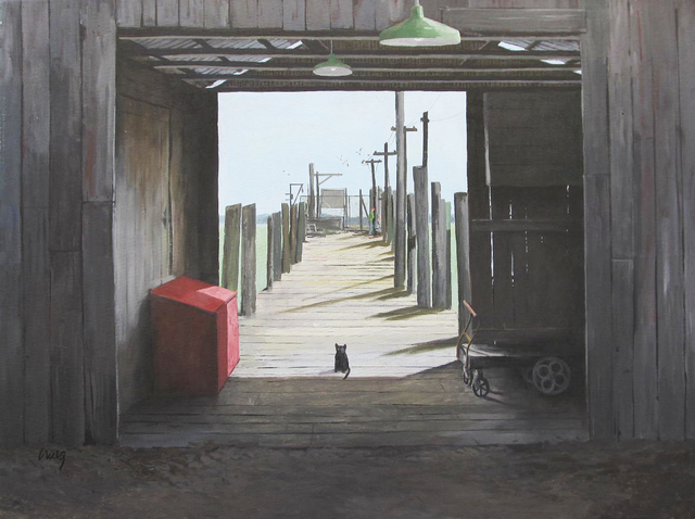 , 'China Camp Cat,' , Desta Gallery