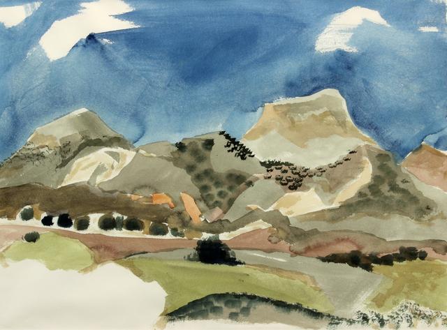 , 'Untitled Landscape,' 1973, Addison Rowe Gallery
