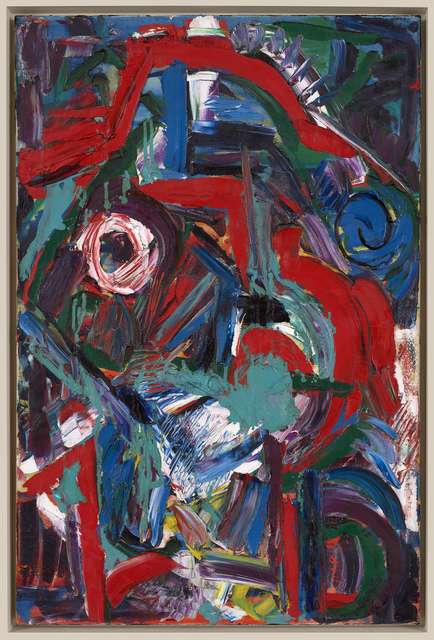 Judith Godwin, 'Indian', 1953, Painting, Oil on canvas, Berry Campbell Gallery