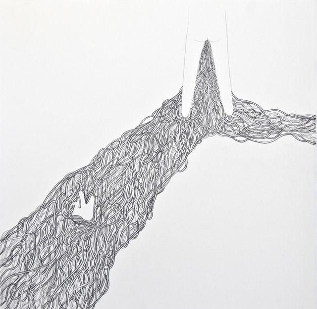, 'Untitled (Legs with spaghetti),' 2015, Lois Lambert Gallery