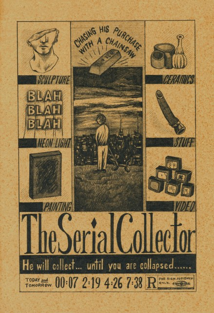 , 'The Serial Collector 连环买手,' 2017, Chambers Fine Art