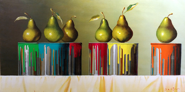 James Jensen, 'Pears & Paint Cans', 2019, Masters Gallery