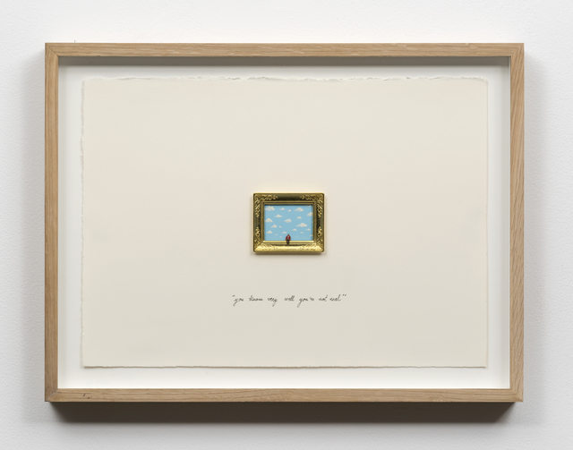 , 'You Know Very Well You're Not Real,' 2015, Castor Gallery