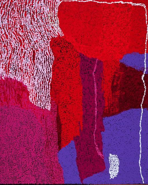 , 'Yannima Tommy Watson's country by Yannima Tommy Watson (panel 3 of triptych),' 2016, Nanda\Hobbs
