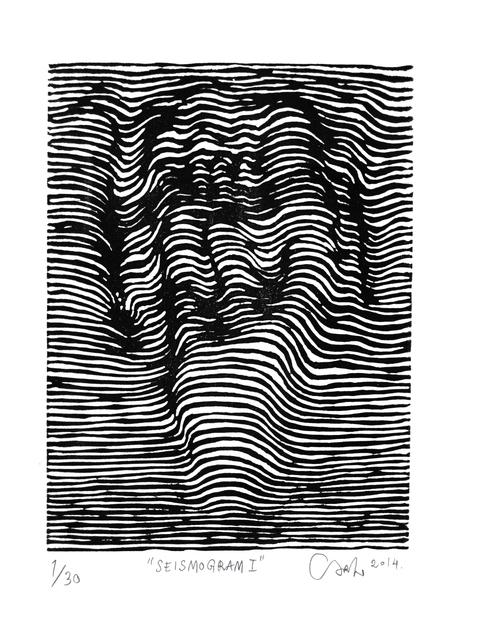 , 'Seismogram I,' 2014, V1 Gallery