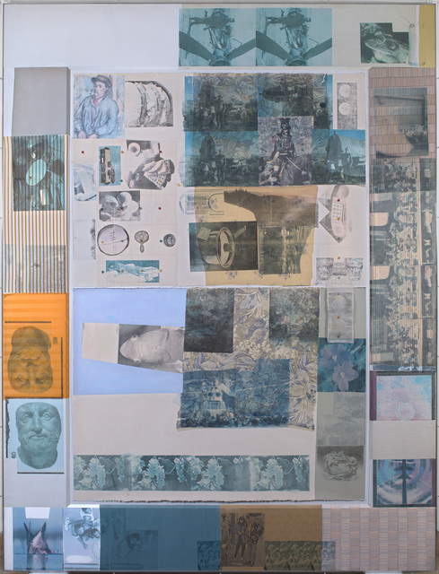 Robert Rauschenberg, 'Rush 17', 1980, Drawing, Collage or other Work on Paper, Solvent transfer on paper and fabric on panel, Waterhouse & Dodd