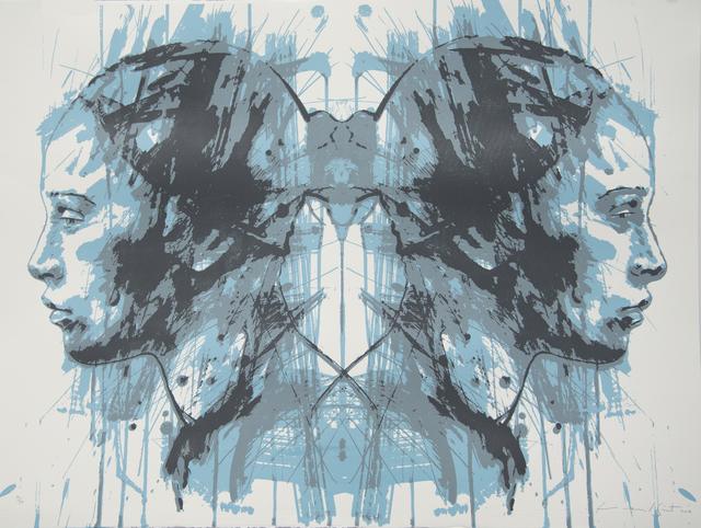 , 'Rorschach Residue 2,' 2014, CYNTHIA-REEVES