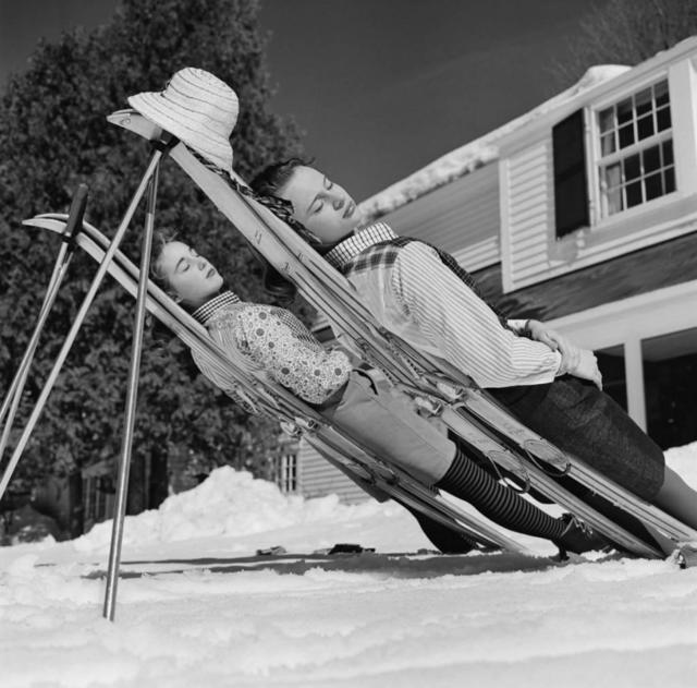 Slim Aarons, 'New England Skiing ', 1955, IFAC Arts