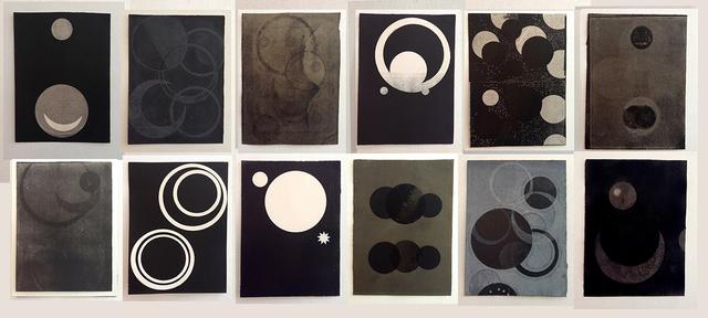 Luis Romero, 'Del libro Negro de la noche III', 2013, Alejandra von Hartz Gallery