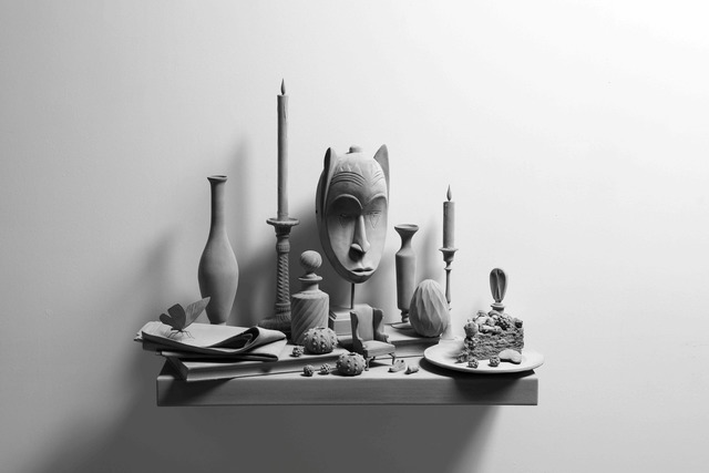 Hans Op de Beeck, 'Still Life (wall piece) (9)', 2019, Galerie Ron Mandos