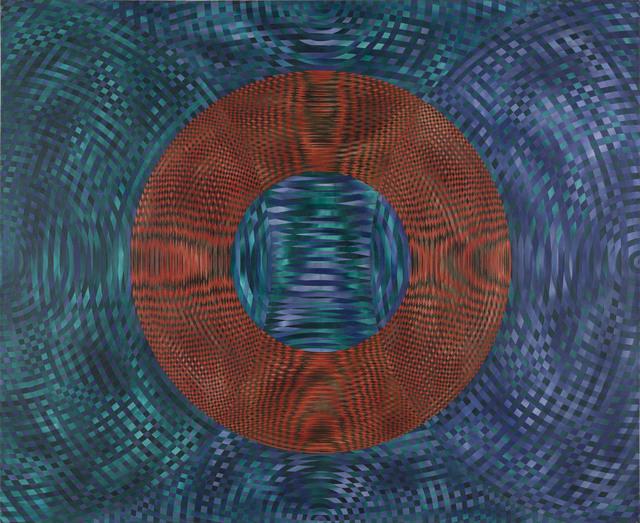 , 'Reverberation No 4,' 1996, Charles Nodrum Gallery