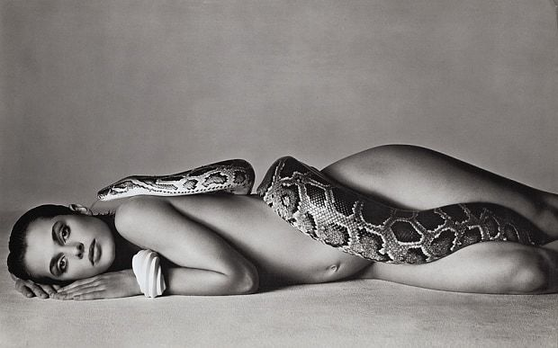 , 'Nastassja Kinski and the Serpent, Los Angeles, California,' 1981, Bernheimer Fine Art