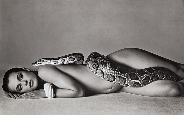, 'Nastassja Kinski and the Serpent, Los Angeles, California,' 1981, Bernheimer Fine Art