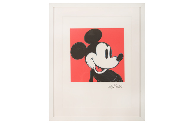 Andy Warhol, 'Mickey Mouse', Chiswick Auctions