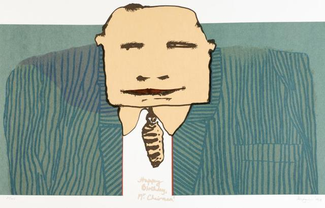 , 'Happy Birthday Mr Chairman,' 1999, ArtVault