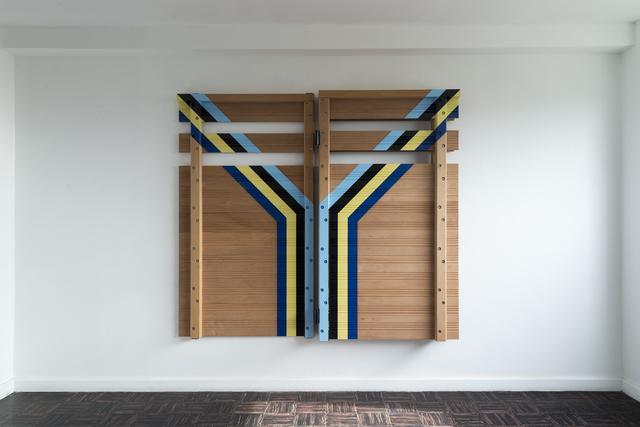 , 'Construcción Geométrica No.12,' 2017, Casa Triângulo