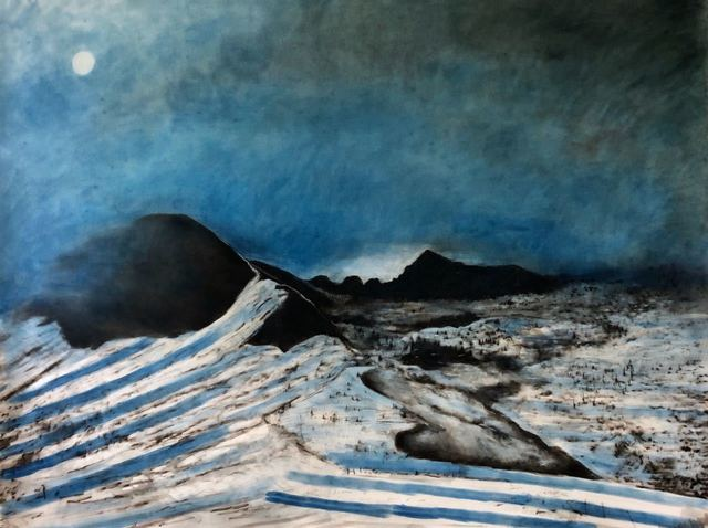 , 'Pic Blanc,' 2018, Galeria Lume