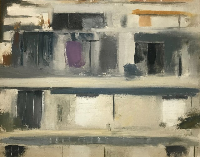 Philip Malicoat, 'Untitled (Greece)', ca. 1970, Painting, Oil on canvas, The Schoolhouse Gallery