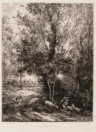 Two Landscapes: Le ruisseau dans la clairière, Le Berger et la Bergère