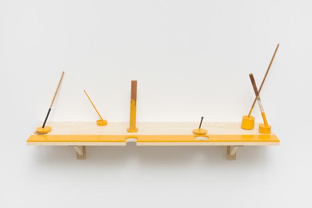 , 'Demarcation Yellow,' 2016, Galeria Luisa Strina