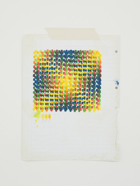 , 'Homenagem - Teste de cores imaginário (J. LeParc),' 2017, Galeria Leme
