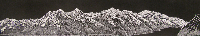 , 'Fairholme Range,' 2014, Open Studio