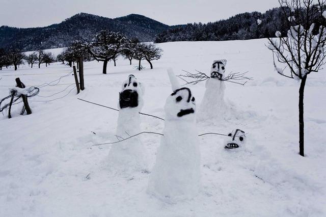 , 'Untitled (snowmen),' 2012, Nicola von Senger