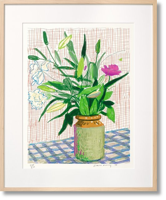 , 'David Hockney ipad Flower Drawing Series. Art 'Edition D ' Collector's Edition (Taschen Sumo),' 2010, Mr & Mrs Clark's