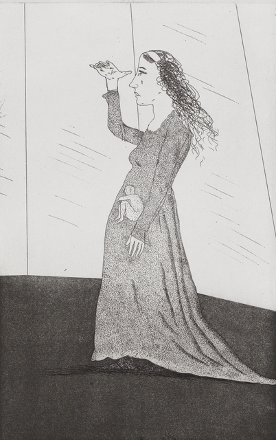 David Hockney, 'The Princess Searching ', 1969, Marlborough London