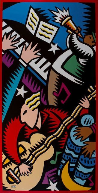 Burton Morris, 'Music', 1998, Denis Bloch Fine Art