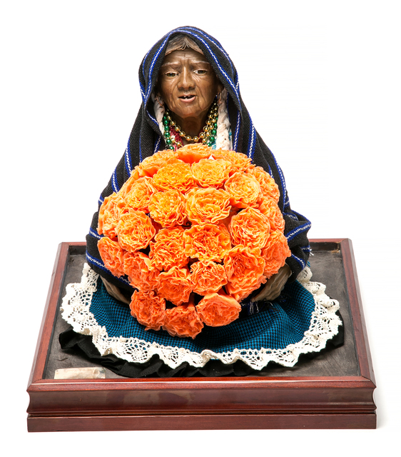 ", '""Vendedora de Xempatzuchil"",' 2016, Cactus Fine Art"