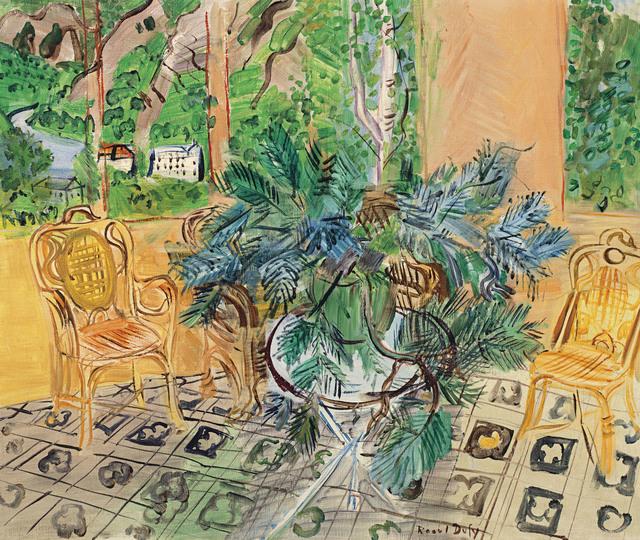 Raoul Dufy, 'La terrasse à Vernet-Les-Bains', 1943, BAILLY GALLERY
