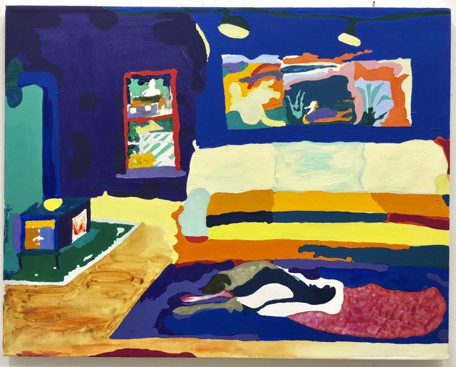 , 'Living Room, Couch, Dog,' 2018, Freight + Volume