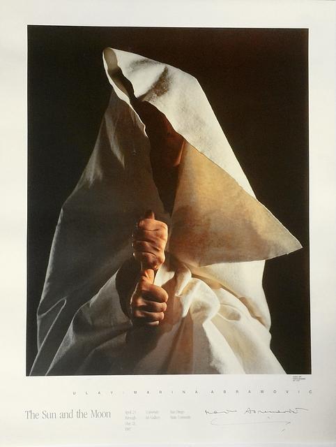 Marina Abramović, 'Sun and the Moon (Hand Signed)', 1987, Alpha 137 Gallery