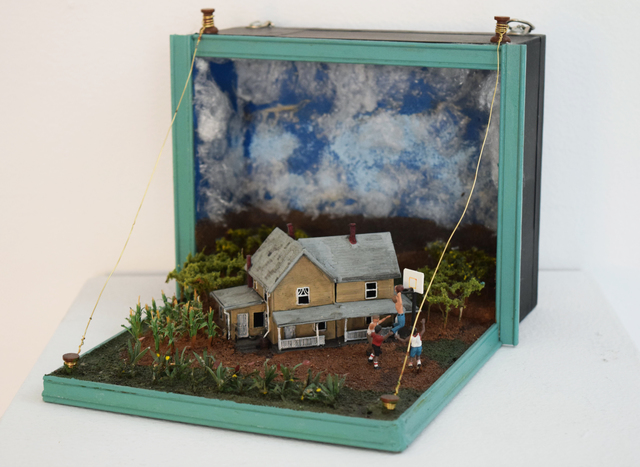 , 'Cigar Box Diorama Two (Hoosiers),' 2013, Fountain House Gallery