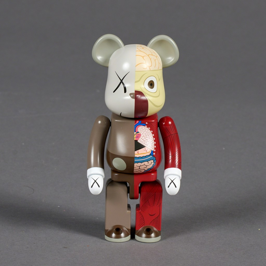 Dissected Companion, 200% Bearbrick (Red)