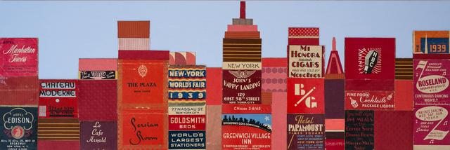 , 'Manhattan Towers,' 2017, Cynthia Corbett Gallery