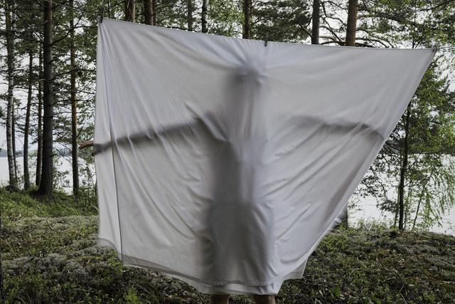, 'Bedsheet,' 2013, Galleria Heino