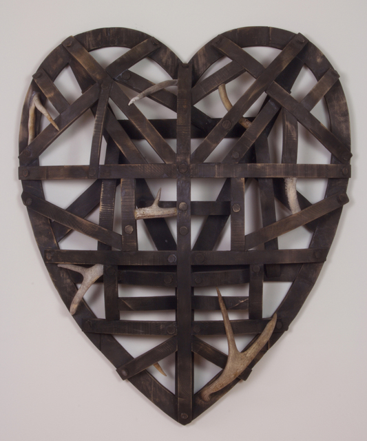 , 'Black Heart,' 2017, Seager Gray Gallery