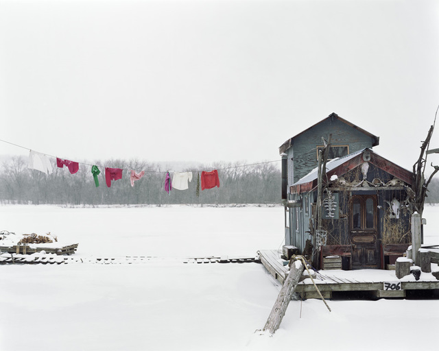 , 'Peter's Houseboat, Winona, Minnesota,' 2002, Rosier Gallery