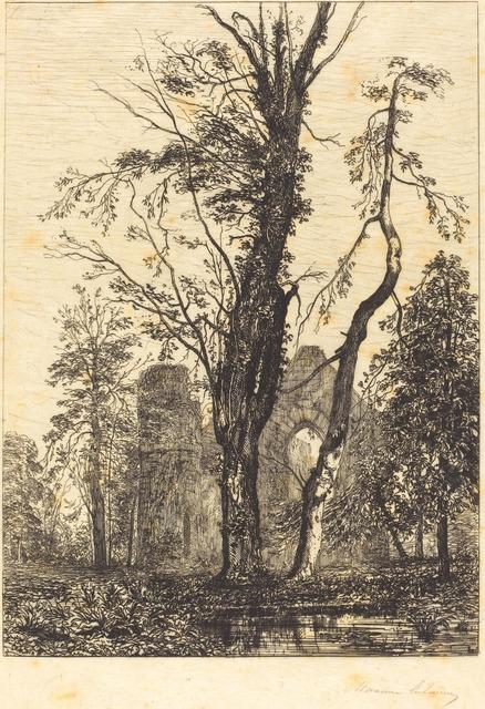 Maxime Lalanne, 'Dans un parc', National Gallery of Art, Washington, D.C.
