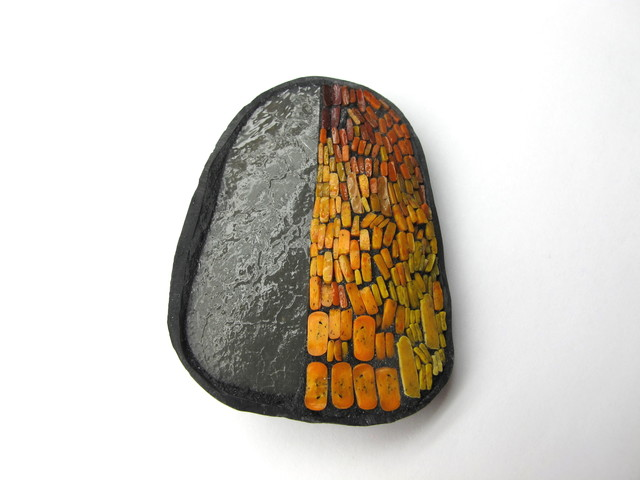 , 'Broche orange et grise,' 2016, WCC-BF Gallery