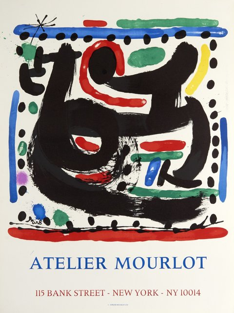 Joan Miró, 'Atelier Mourlot, Bank Street, New York', 1967, Zuleika Gallery