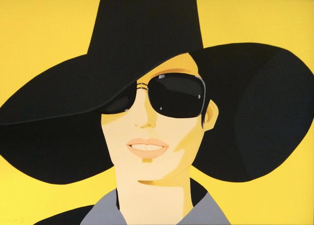 Alex Katz, 'Vivien In Black Hat', 2010, Kunzt Gallery